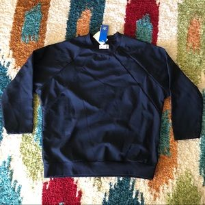 Adidas Mens NMD Navy Blue Crew Sweatshirt
